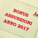 Copertina articolo Bonus Assunzioni 2017